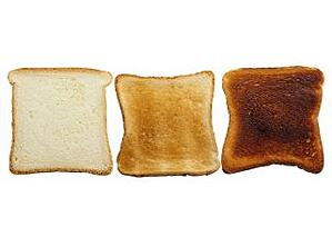 Excessive residence time will affect your plastics much like it affects your toast: Black, Burnt, Unusable.