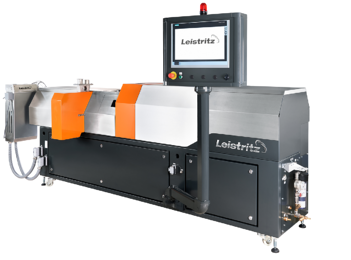 Here is a twin screw extruder from our friends at Leistritz