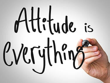Get your attitude fixed for better results
