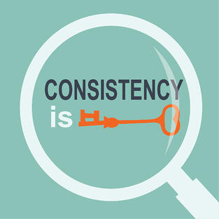 You need to be consistent to see results in purging.