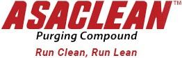 ASACLEAN Purging Compound. Run Clean, Run Lean